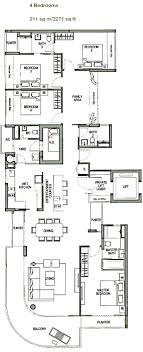 azure floor plan the azure condo details ocean drive in sentosa harbourfront d4