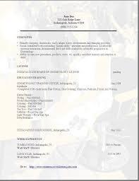 free cosmetology resume sample http jobresumesample com 783