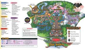 Printable Map Of Disney World by Mickey U0027s Not So Scary Halloween Party 2011 All Ears Guest Blog