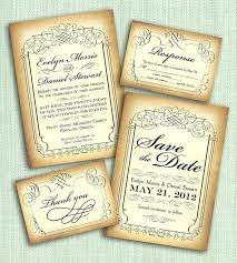 wedding invitations ebay vintage style wedding invitations vintage garden
