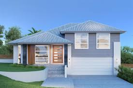 sloping block home builders split level house plans melbourne with