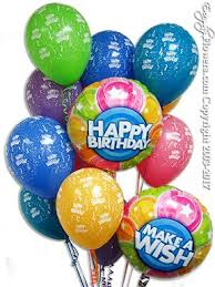 birthday balloon delivery make a wish birthday balloons delivery by everyday flowers