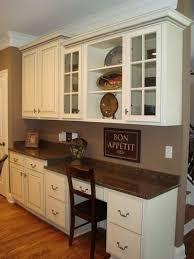 desk in kitchen ideas built in kitchen desk for cookbooks file storage sound system