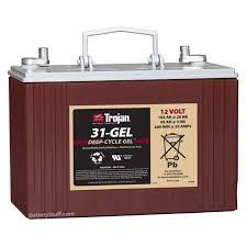 t31 gel 102 ah trojan battery