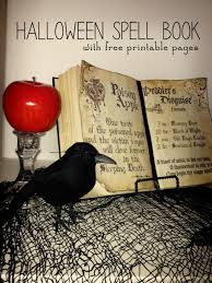 printable halloween book g rated diy halloween spell book