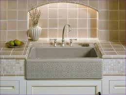 Undermount Porcelain Kitchen Sinks by Bathrooms Kohler Vault Apron Vintage Farmhouse Sink Copper