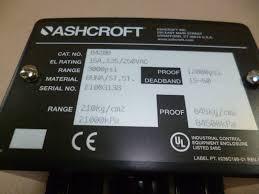 ashcroft b420b snap action pressure switch 100 psi ebay