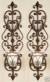 Candle Wall Sconces Wall Sconces Candles Wrought Iron Open Travel