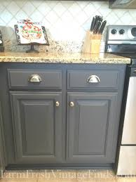 pictures of kitchen cabinets painted grey painting kitchen cabinets with general finishes milk paint
