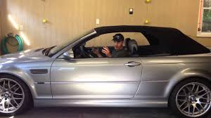 bmw 3 series convertible roof problems 2006 bmw e46 convertible top trouble going
