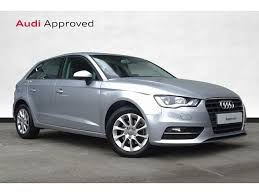 used audi york used audi a3 1 6 tdi 110 se 5dr manufacturer approved in york
