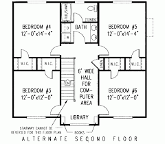 six bedroom floor plans house plan of the week 6 bedroom farmhouse with space for