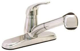 Single Lever Pull Out Kitchen Faucet by Proplus Single Handle Pull Out Kitchen Faucet U0026 Reviews Wayfair