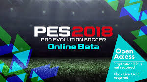 online beta available in july pes pro evolution soccer 2018
