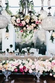 Wedding Chandeliers Greenery Wedding Chandeliers Whimsical To Elegant Wedding
