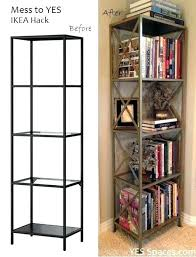 Ikea Bookcase With Glass Doors Glass Bookcase Ikea Topclassifieds Info