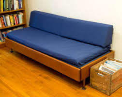 Couch Trundle Bed Mid Century Couch Etsy