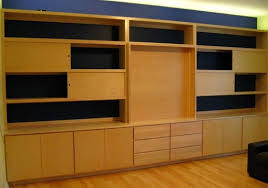 Bookcase In Wall Hand Crafted Built In Wall Unit By Ivy Lane Fine Furniture
