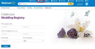 how to find a wedding registry walmart wedding gift registry wedding gifts wedding ideas and