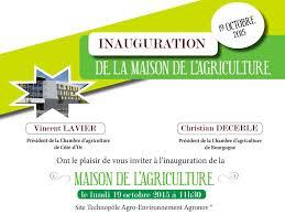 chambre d agriculture bourgogne inauguration de la maison de l agriculture société est métropoles