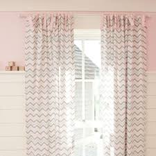 Pink Chevron Curtains Pink And Gray Chevron Drape Panel Carousel Designs