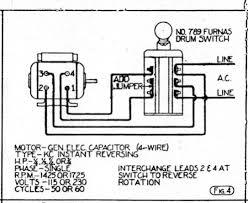 single phase motor wiring diagram forward reverse circuit and