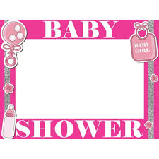 baby shower frames large custom baby shower photo booth frame baby shower frame prop