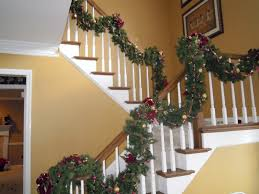 Banister Garland Ideas How To Store Your Christmas Garland East Cobb Ga Patch