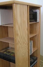 Dvd Storage Cabinets Wood by Swivel Dvd Storage Cabinet 30