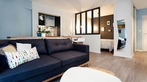 canapé tours appartement tours 32 m2 scandinaves refaits à neuf côté maison