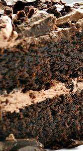 triple chocolate layer cake recipe layering chocolate and