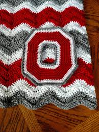 Ohio State Outdoor Rug Crochet Pattern Pattern For Ohio State Inspired Crochet