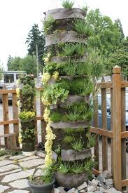 outdoor easy diy vertical garden ideas picture 5 awesome