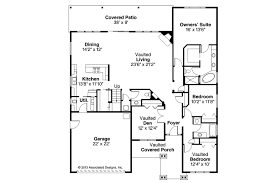 one or two story craftsman house plan country plans with basement