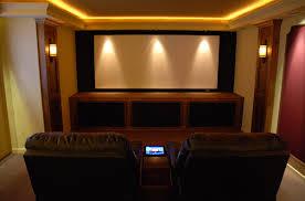 Home Theater Design Lighting Basement Home Theater Design Ideas Inspiring Nifty Basement Home
