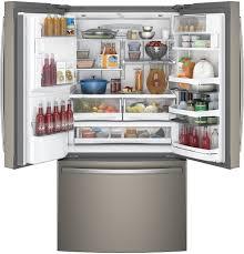 refrigerators with glass doors ge profile series energy star 27 8 cu ft french door