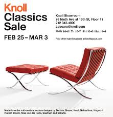 212 Modern Furniture by Knoll Classic Mid Century Modern Furniture New York Sale