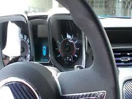 2010 camaro interior 2010 camaro w blue carbon fibre interior trim