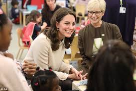 kate middleton reveals charlotte u0027s favourite colour daily mail