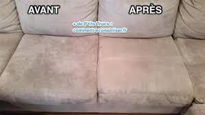 nettoyage vapeur canapé comment nettoyer un fauteuil en microfibre comment nettoyer un