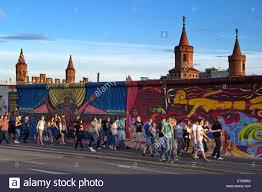 people in front of berlin wall mural east side gallery berlin people in front of berlin wall mural east side gallery berlin germany europe