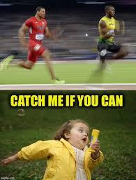 Funny Running Memes - girl running imgflip