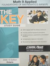 the key study guide math 9 applied batner bookstore u2013 textbooks