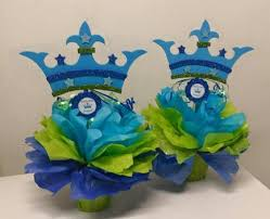 prince baby shower theme baby shower theme centerpieces adrianas creations