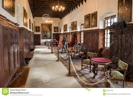 interior of bojnice castle slovakia editorial stock photo image