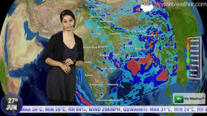 India Weather Map by 27 06 14 Skymet Weather Report For India Youtube