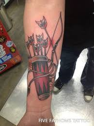 best 25 bow arrow tattoos ideas on pinterest meaning of arrow