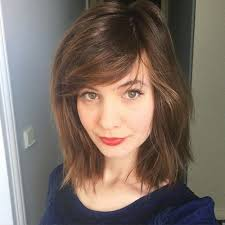 shorter hairstyles with side bangs and an angle 50 classy short bob haircuts and hairstyles with bangs