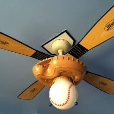 themed ceiling fan find more baseball softball themed ceiling fan with light also