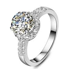 wholesale engagement rings online get cheap halo diamond engagement rings aliexpress com
